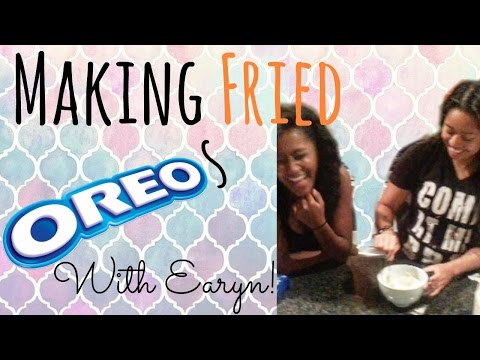 Making Fried Oreos With Earyn! | BeingDaphne