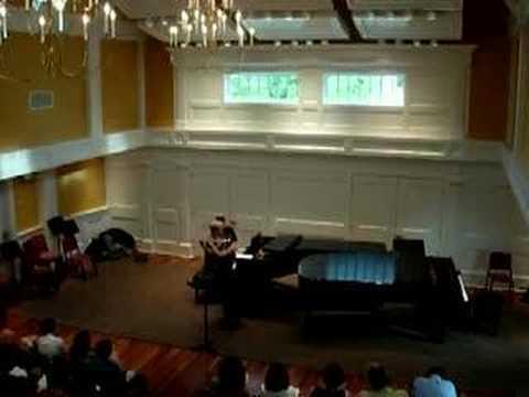 Mimi Stillman, flute - Dianne Goolkasian Rahbee Sonata 2
