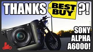 THANKS Best Buy!? Sony Alpha A6000 - Harley Iron 883