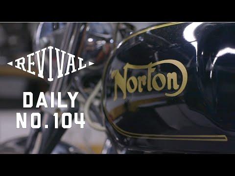 Ducati Square Case & '74 Norton Commando Electric Start // Revival Daily 104