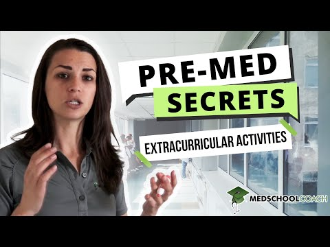 Extracurricular Activities Needed Before Applying To Medical School
