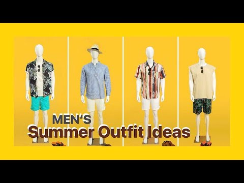 4 Easy Summer Outfits For Dad | Men's Ideal Summer Outfit Inspiration | Men's Fashion 2019 | NEWCHIC 2