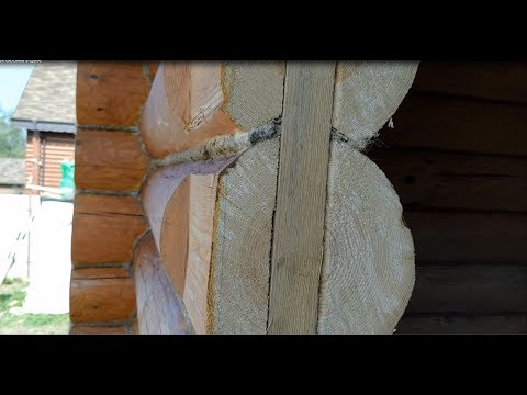 Плавающая окосячка окон в деревянном доме. Как врезать окна в сруб из бревна и бруса правильно.