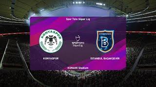 PES 2020   Konyaspor vs Basaksehir - Super Lig   13/07/2020   1080p 60FPS