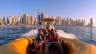 Dubai RIB Boat Cruise Palm Jumeirah and Dubai Marina (Lama Tours) - Lamadubai.com