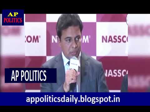 TS IT Minister KTR Super Speech IT Employee  AP Politics