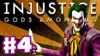 Injustice: Gods Among Us - Gameplay Walkthrough Part 4 - Joker (PS3, XBox 360, Wii U)