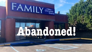 ABANDONED: EXPLORING A FAMILY CHRISTIAN STORES | THE SHOWSTOPPER SHOWS