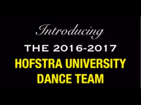 Hofstra University Dance Team 2016-2017: Meet the Team