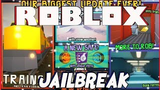 ROBLOX JAILBREAK | ROBBING THE TRAIN | GLITCHES | ATV | BLOCKING THE TRAIN | PLAYING WITH FANS!