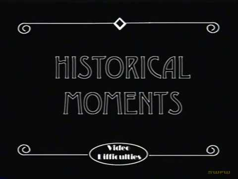 Video Difficulties:  Historical Moments with Winston Churchill