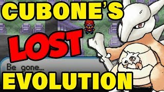 Cubones Lost Evolution Changes EVERYTHING About The History Of Pokemon! (Beta Pokemon Trivia)