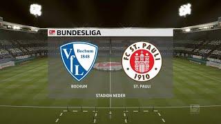 A simulation of the upcoming match in 2. bundesliga, vfl bochum vs st pauli.vfl pauli - bundesliga (21/09/2020) all goals & extended hi...