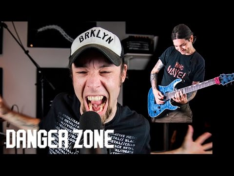 Danger Zone (metal cover by Leo Moracchioli feat. Erock)