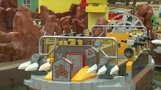 A sneak peak at Legoland's Lego Movie World