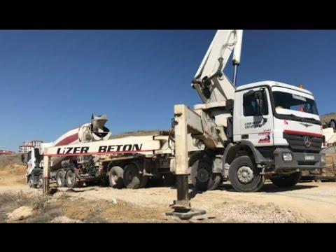 Beton pompası mikser çalışmaları kro beton nasıl atılır business machines
