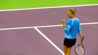 Vera Zvonareva Winning the Doha Open 2011 Thumbnail