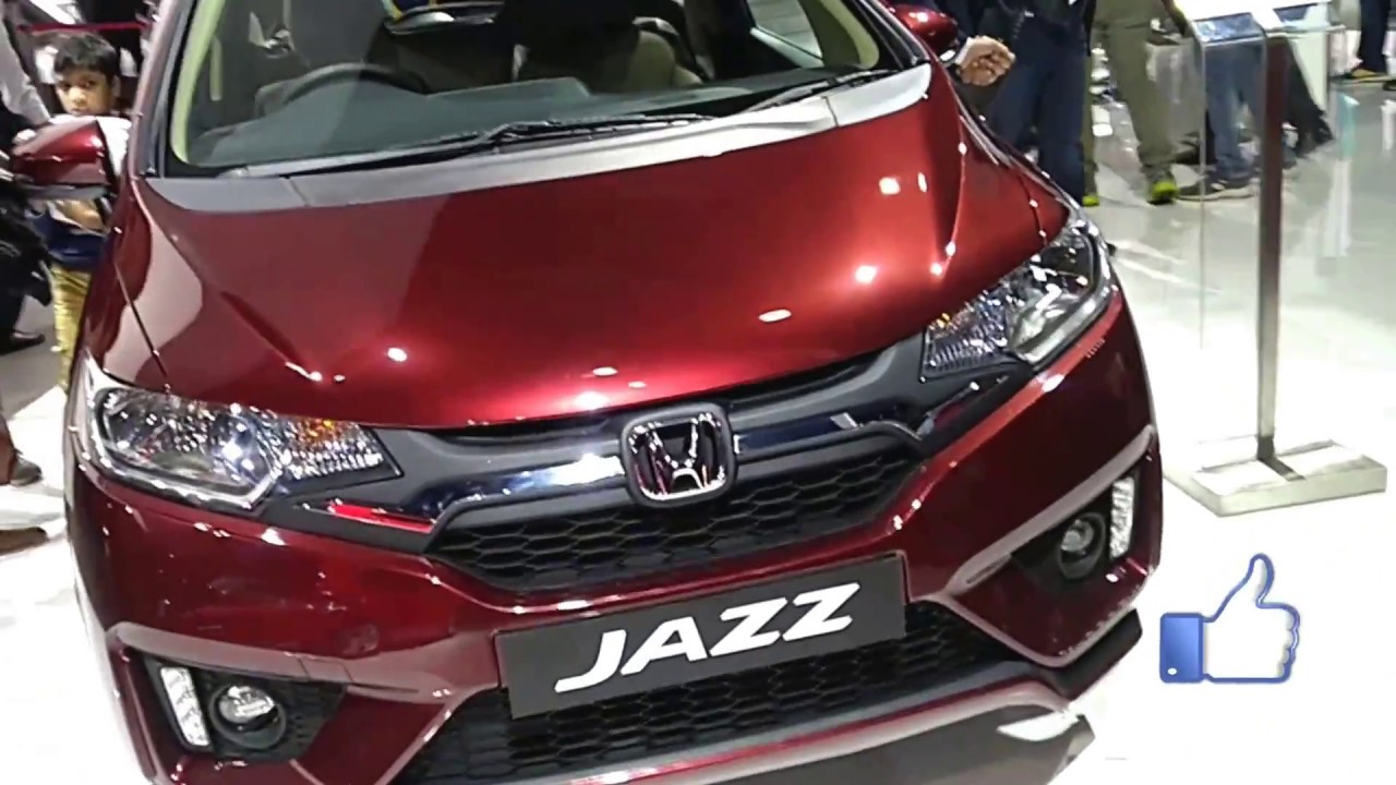 Honda Jazz Car Indian Auto Expo 2018 First Look And Preview