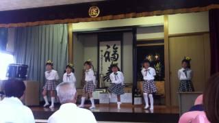 下中福良地域の敬老会で「ミニハムずの愛の唄」を披露しました。 「かわ...