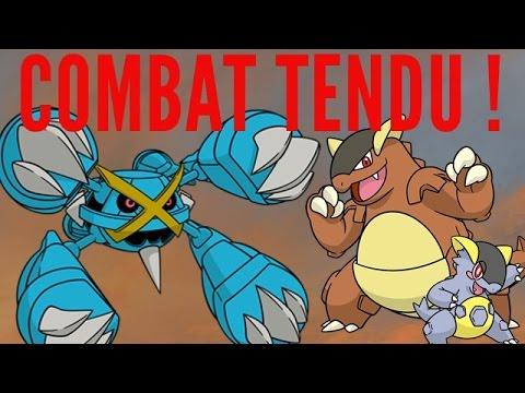 Combat tendu entre m ga m talosse et m ga kangourex - Pokemon mega kangourex ...