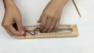 Repeat youtube video คลิปสอน การเริ่มต้น ถักผ้าพันคอบล้อคไม้ โดย ร้านทวี