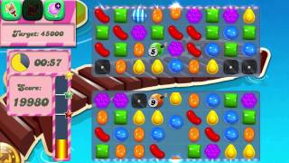 Candy Crush Saga Level 134 No Boosters