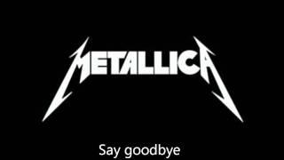 "Metallica - ""Seek And Destroy"" Lyrics (HD)"