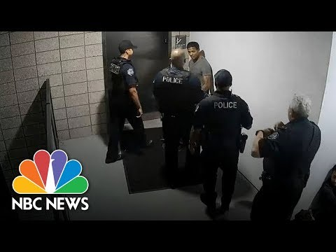 Police Beating Unarmed Man In Mesa, Arizona | NBC News