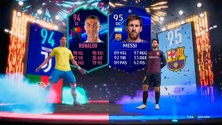 RONALDO OTW y MESSI CHAMPIONS IN A PACK!!! PACK OPENING FIFA19 - TOP SQUAD BUILDING