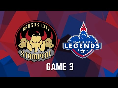 Kansas City Stampede vs. League City Legends - Game 3