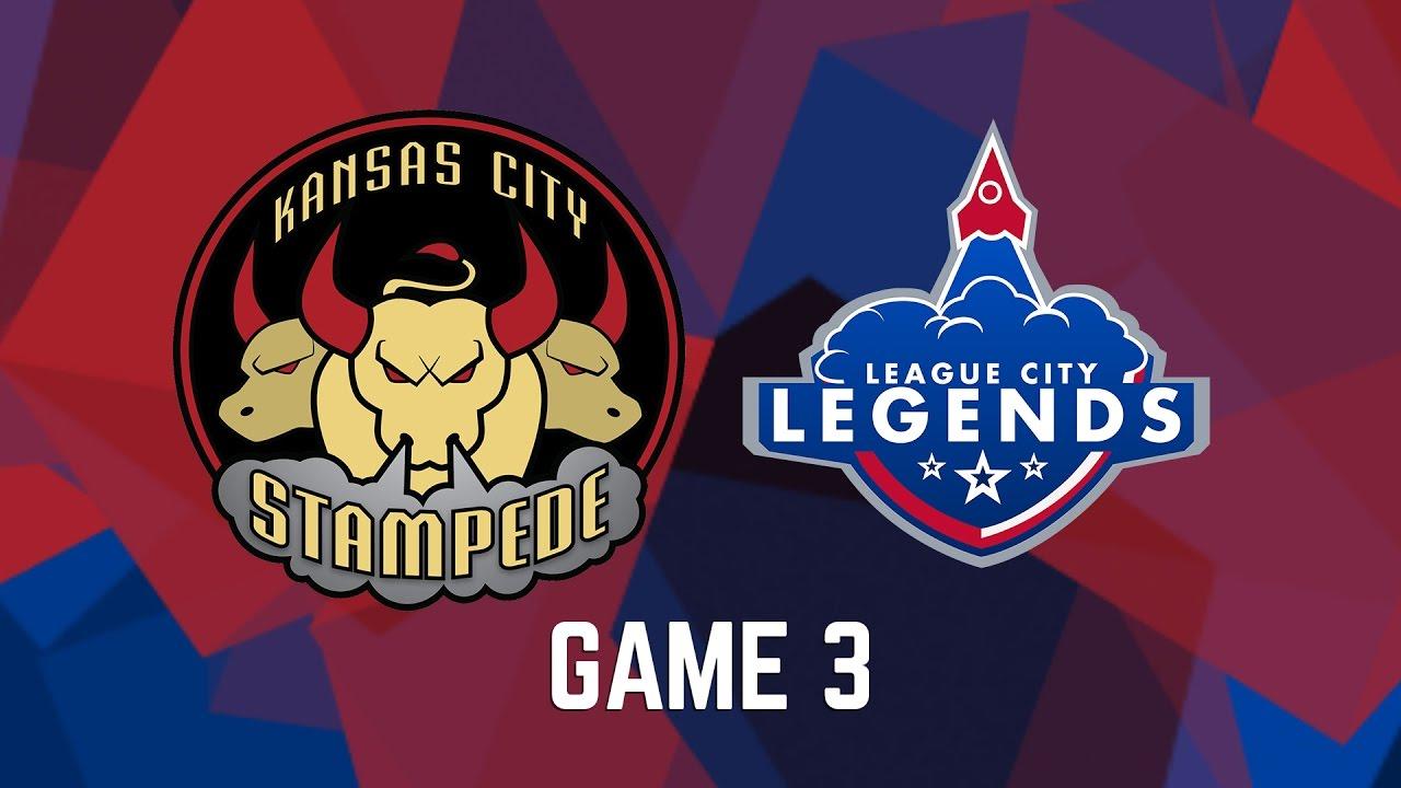 Kansas City Stampede Vs League City Legends Game 3