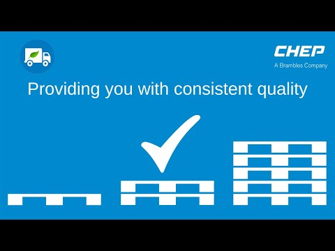 CHEP – providing you with consistent quality