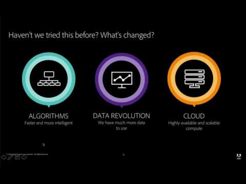 "Adobe 2016 - ""Machine Learning & Data Science comes to DAM"""