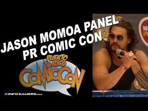 Jason Momoa Q&A - Puerto Rico Comic Con 2015