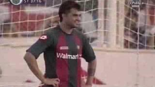 Gaston Aguirre (San Lorenzo) - INCREIBLE Gol en contra ante Lanus