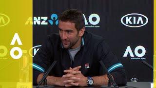 Marin Čilić press conference (F) | Australian Open 2018