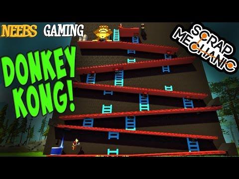 Scrap Mechanic - Donkey Kong!