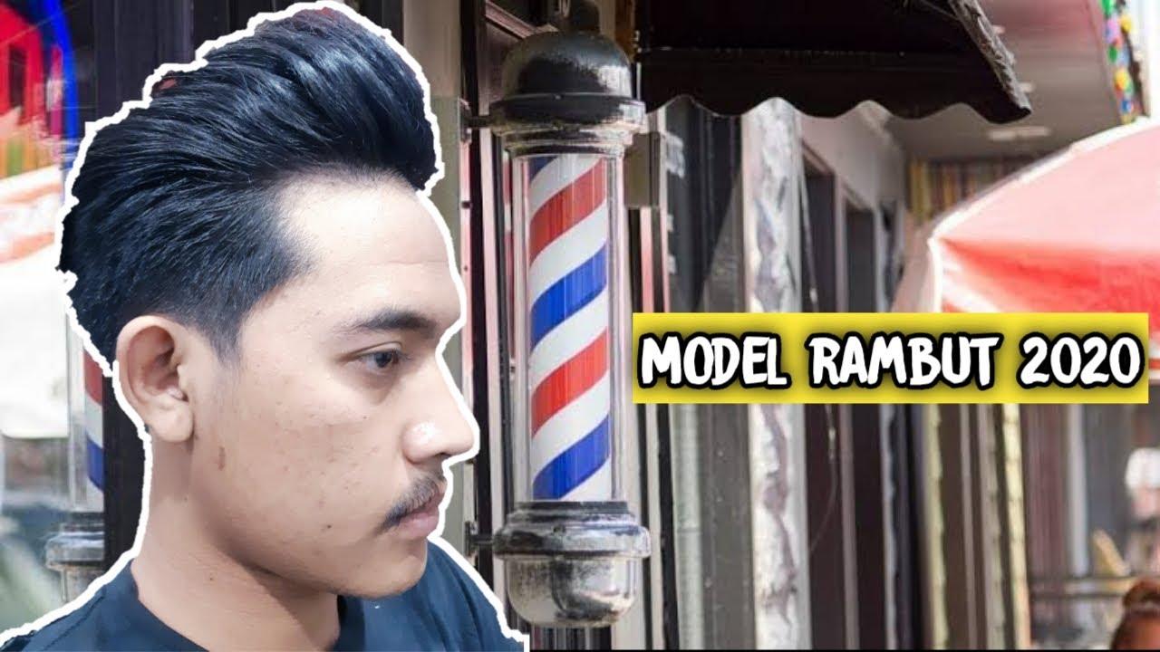 Model rambut pria 2020 - YouTube
