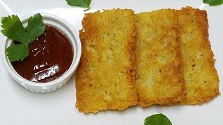 Hash brown Recipe||How to make hash brown at home||urdu|make&fareez ramazan by kitchen with Fatima
