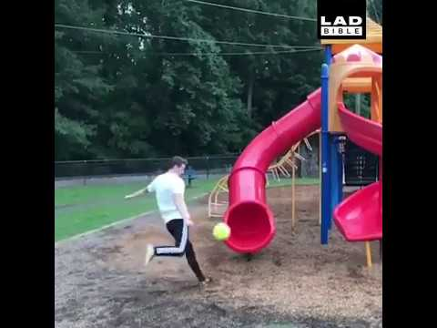 Soccer Ball Fail Compilation Compilation of people kicking soccer balls in the face