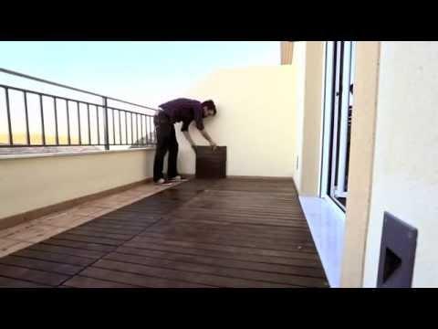 Como hacer una terraza low cost youtube - Hacer terraza en piso ...