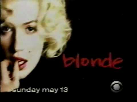 April 2001- Promo For 'Blonde', Marilyn Monroe TV Movie