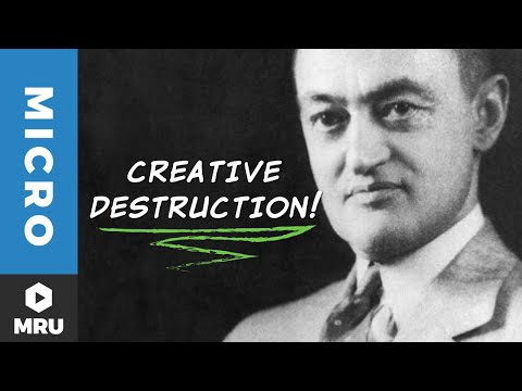 The Balance of Industries and Creative Destruction