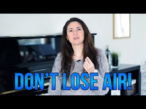 Don't Lose Air! How To Sing and Still Have Air...