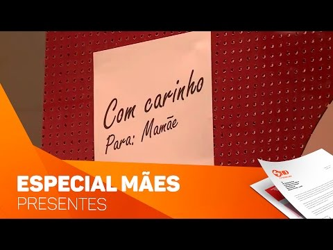 Especial Dia das Mães: Presentes - TV SOROCABA/SBT