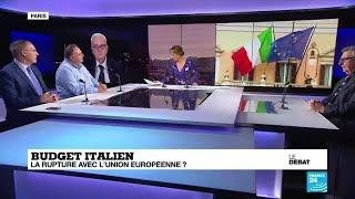 Le débat : budget italien : la rupture avec l''Union européenne ?
