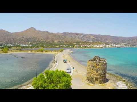 Elounda Water Park Residence [Drone Clip]