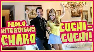 Charo shows us how to cuchi-cuchi!