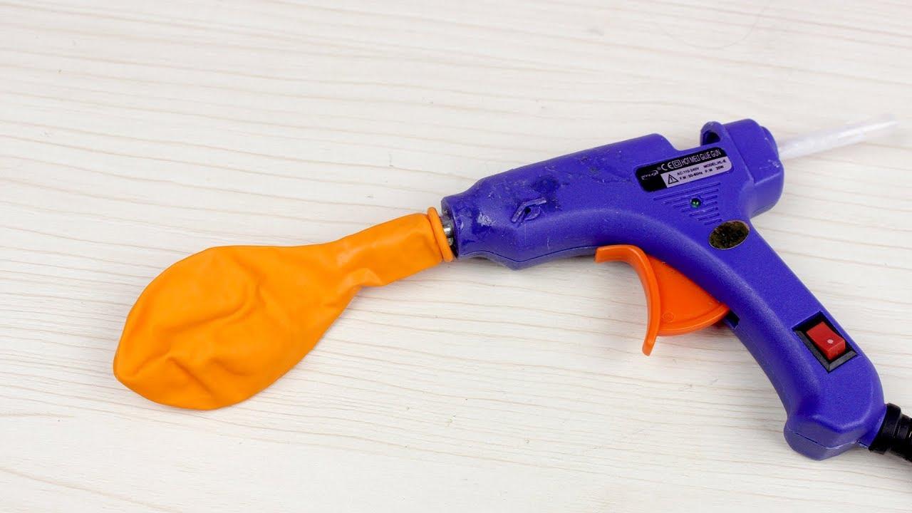 5 trucos con pistola de silicona caliente youtube for Pistola de pegamento o de silicona