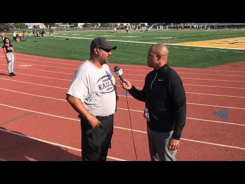INTERVIEW - EISENHOWER HS HEAD COACH - LIVE HIGH SCHOOL FOOTBALL BROADCAST & LIVE STREAM